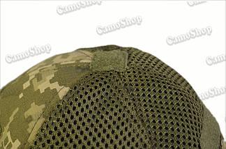 Бейсболка річна тактична з якісної 3D-сітки в класичному стилі (піксель), фото 3