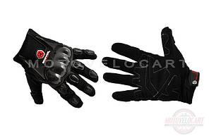 """Перчатки   (mod:HD-12, size:L, черные, текстиль, карбон)   """"SCOYCO"""""""