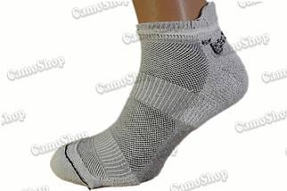 """Спортивные трекинговые летние носки для кроссовок ТМ """"Trekking"""" LowLight серые, фото 3"""
