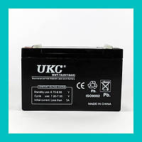 Аккумулятор BATTERY 6V 10A UKC!Хит цена