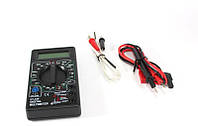 Цифровой амперметр, Multimeter 838, Индикатор напряжения, Электронный тестер, Мультиметр профессиональный