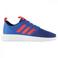 Кроссовки Adidas Neo Swifty Child Boys Trainers Blue/SolarRed - Оригинал