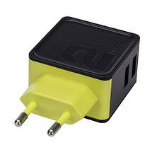 Универсальное сетевое зарядное устройство Rock Sugar Travel Charger 2 USB 12W RWC0239 (Черное), фото 3