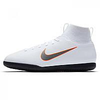 Бутсы Nike Mercurial Superfly Club DF Junior White ChrOrange - Оригинал e4653c5097f