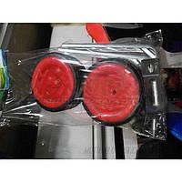 Колеса вспомогательные, детские универсальные (пластиковые) (#MD),цвет:красный