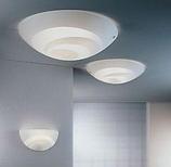 Накладные круглые настенно-потолочные светильники под цоколь Е 27