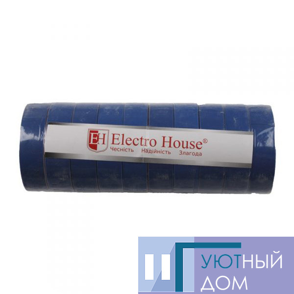 Изолента синяя 0,15мм х 18мм х 17м