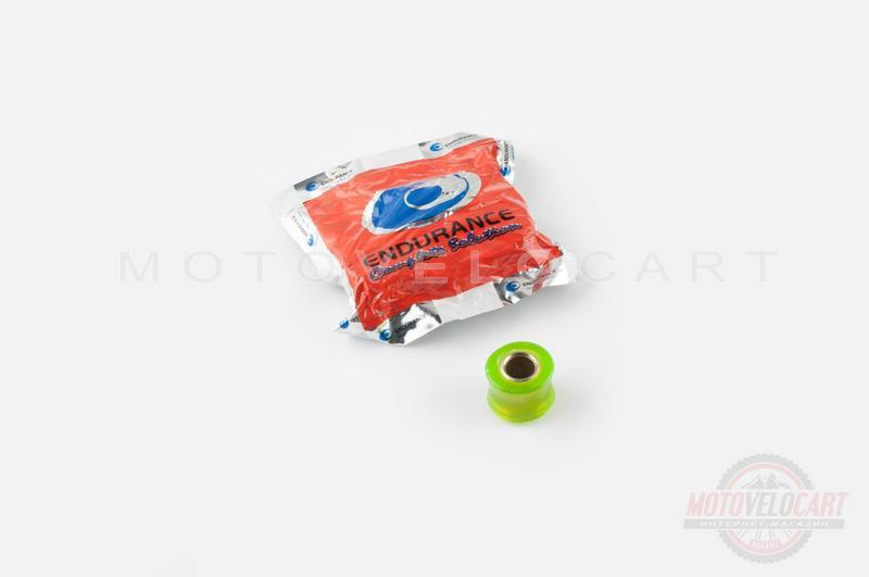 """Сайлентблок амортизатора силиконовый   d-10mm   (зеленый)   """"KTO"""""""