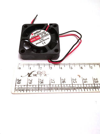 Вентилятор Sunflow (12V, 0.10A) 40х40х10мм квадратный, фото 2