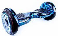 """Smart Balance Elite Lux 10,5"""" Синие Пламя +Cумка +Баланс, фото 1"""