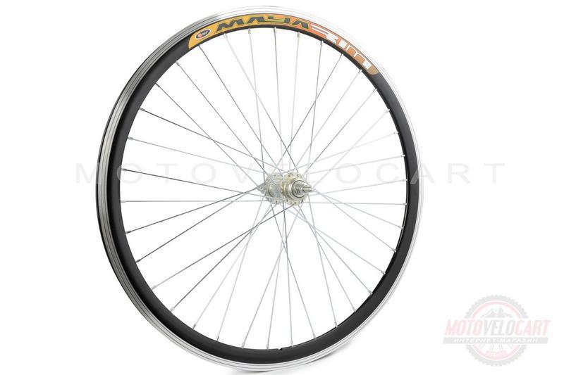 """Обод велосипедный (в сборе)   26""""   (перед, 36 спиц, дисковый тормоз, алюминий)   (двойной)   """"GL"""""""