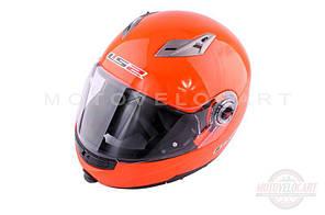 """Шлем трансформер   (size:L, оранжевый + солнцезащитные очки)   """"LS-2"""""""
