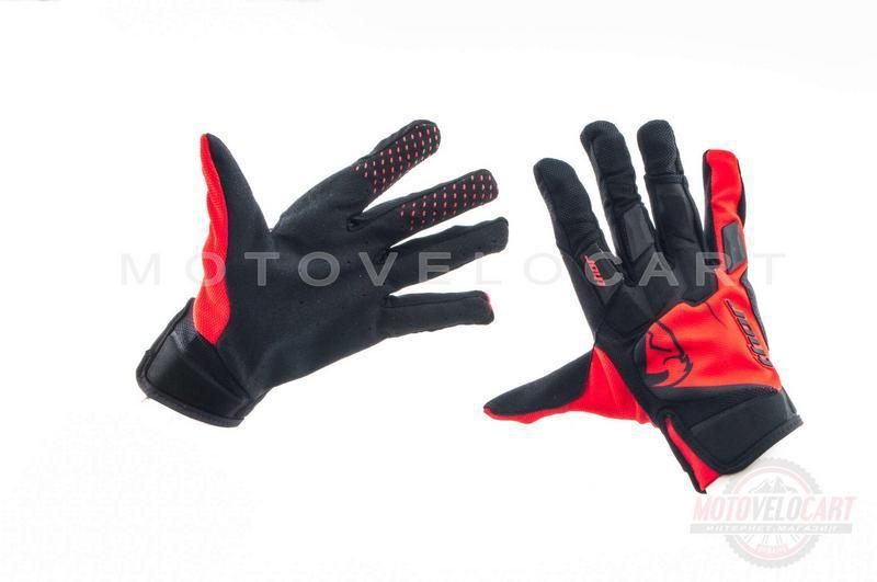 """Перчатки   """"THOR""""   (черно-красные, size XL)"""