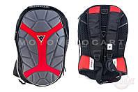 Рюкзак   (серый, рисунок красный X)
