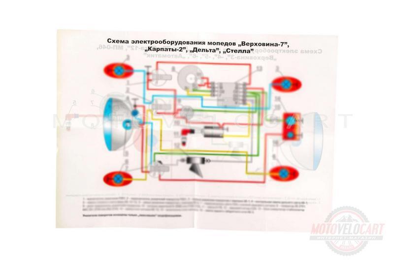 """Схема электрооборудования   КАРПАТЫ, ВЕРХОВИНА-7   """"EVO"""""""