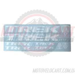 Наклейки вело (набор прозрачные) TREK 38х15см