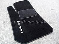Водительский ворсовый коврик Daewoo Lanos