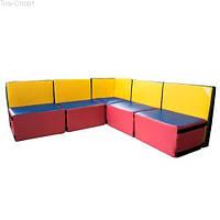 Детский модульный диван Уют ТМ Тia-sport Тиа-Спорт: sm-0254 (Украина)