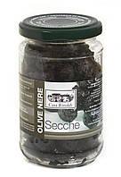 Оливки черные сушеные с косточкой, без масла Casa Rinaldi 170г