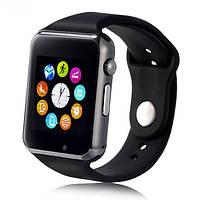 Cмарт часы телефон Smart Watch A1 (GT08) с поддержкой SIM карты и MicroSD