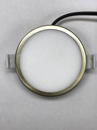 Светодиодная панель RIGHT HAUSEN  6W 4000K круглая Код.59317, фото 2
