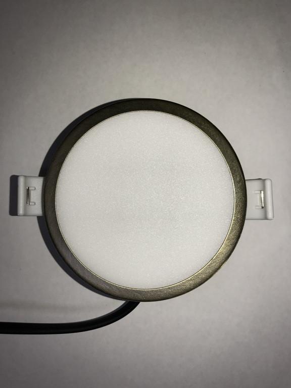 Светодиодная панель RIGHT HAUSEN  6W 4000K круглая Код.59317
