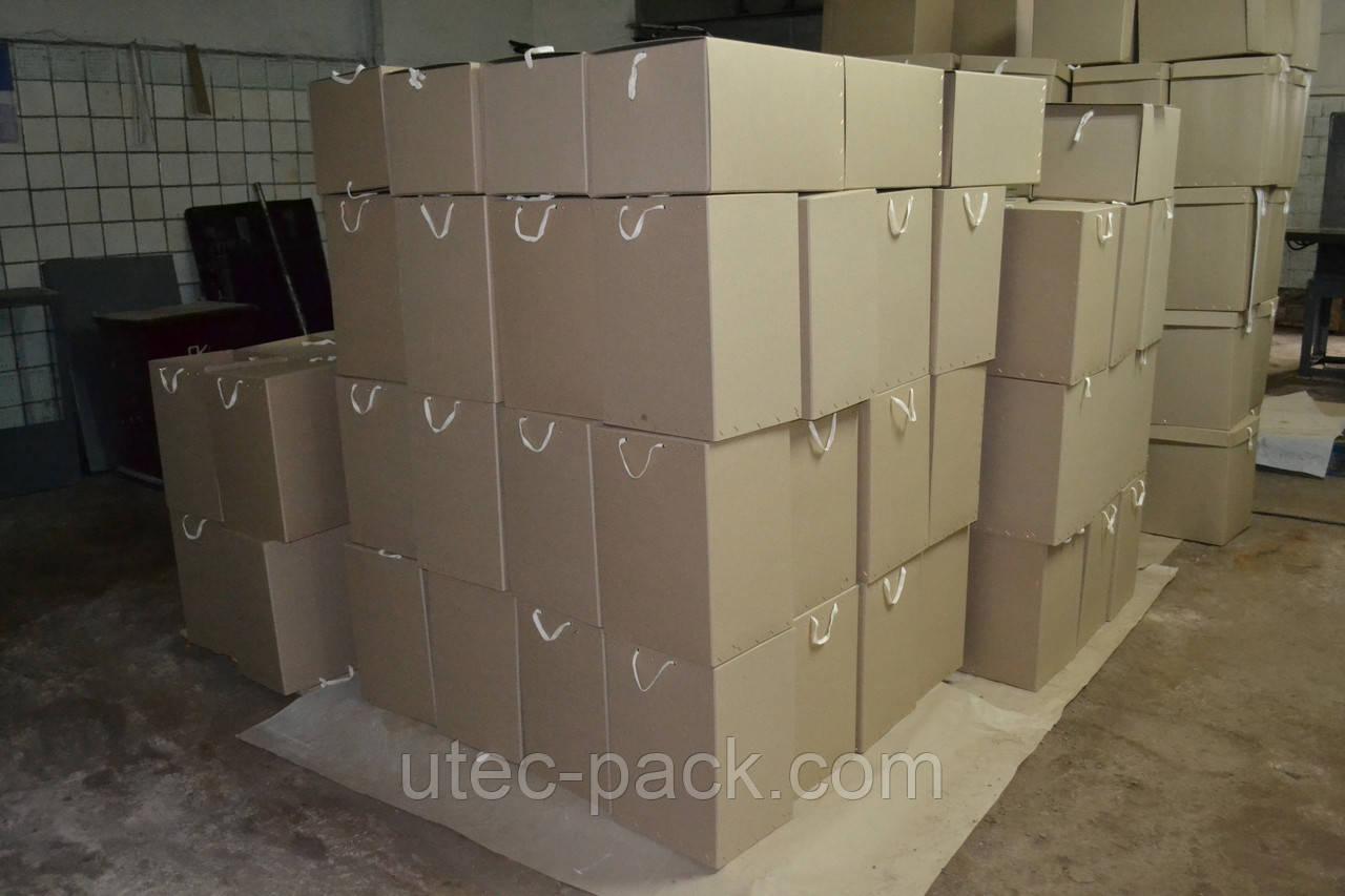 Архівні папки і короба з картону для зберігання документів