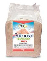 БИО Соль розовая Гималайская мелкая 1 кг