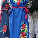 Стильное вышитое платье Маки, фото 3