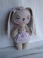 Игрушка Зая подарок девочке зайчик Зайка на день рождения ручная работа , фото 1