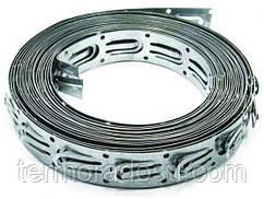 Монтажная лента для фиксации греющего кабеля