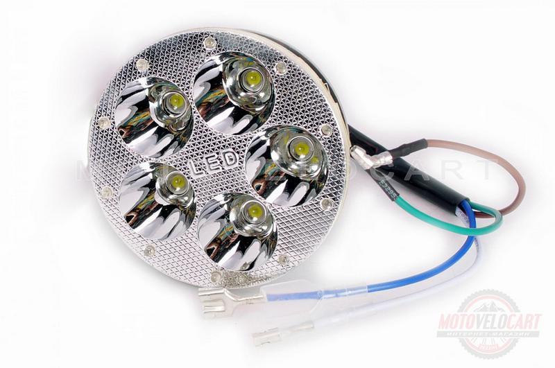 Модуль светодиодный   (5 диодов, RGB-подсветка, ?80mm)   MANLE