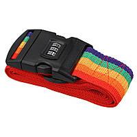 Багажный ремень-крепление на чемодан R82840 Разноцветный