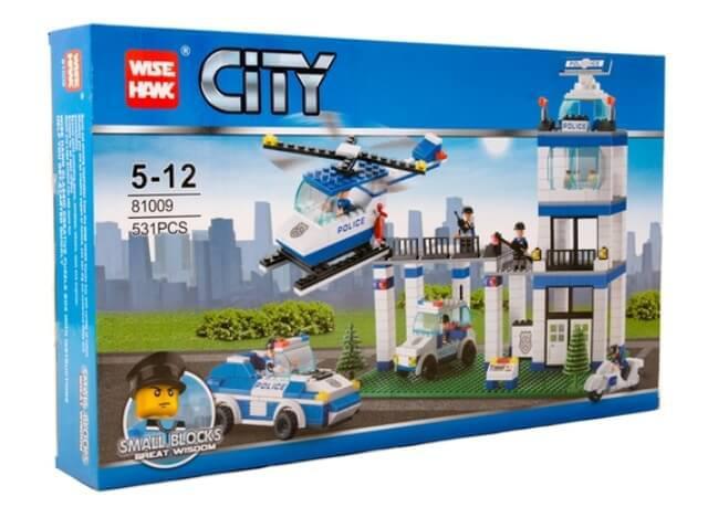 Конструктор Полицейский участок 81005 City