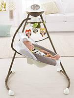 Колиска-гойдалка мій маленький ведмедик My Little Snugabunny Cradle n Swing from Fisher-Price