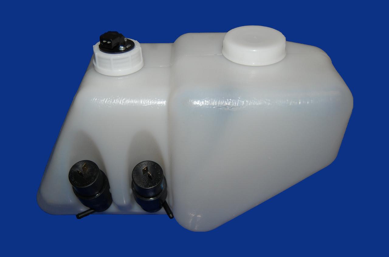 Бачок омивача на ВАЗ 2108-115 (в зборі 2 мотора/датчик/кришка)