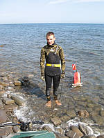 Комплект снаряжения для подводной охоты