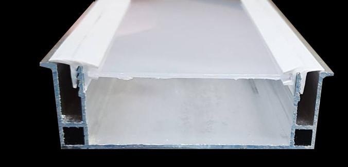Профиль алюминиевый парящая линия (профиль+линза+вставка)