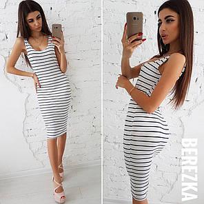 Платье без рукава ниже колена, фото 2