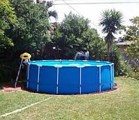 Каркасный бассейн Intex хорошего качества 457-122 см.