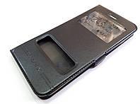 Чехол книжка с окошками momax для iPhone 6 Plus / 6s Plus черный, фото 1