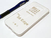 Чехол для Samsung Galaxy S6 Edge G925 силиконовый ультратонкий прозрачный, фото 1