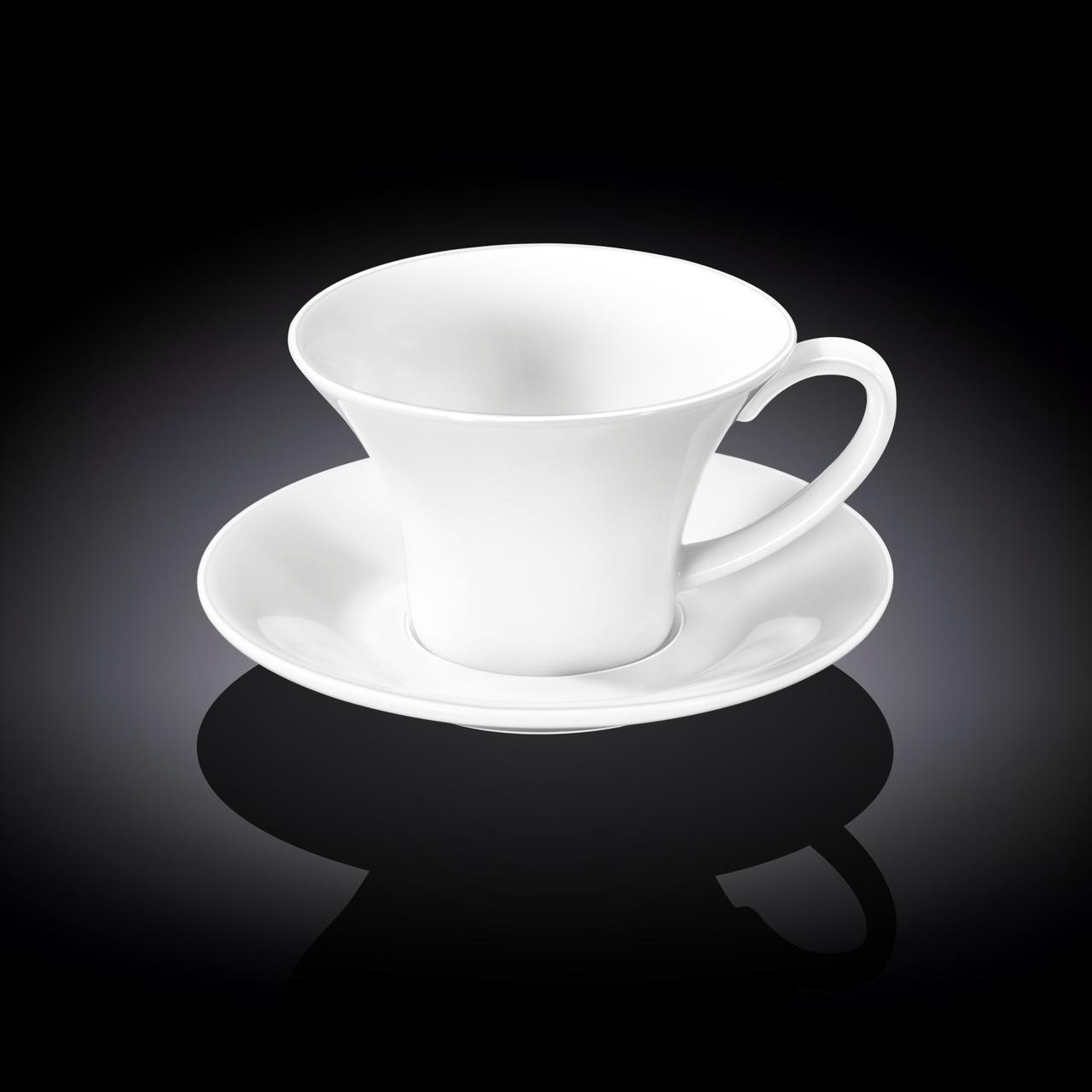 Чашка кофейная и блюдце Wilmax 100 мл WL-993168