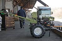 Мотоблок Кентавр МБ 1081Д+почвофреза+плуг(8 л.с., электростартер)