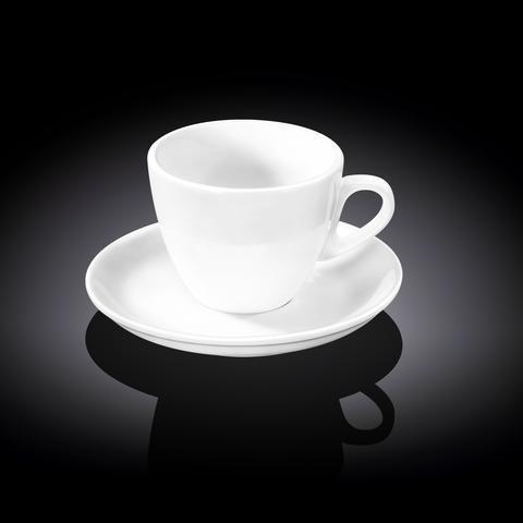 Чашка чайная&блюдце Wilmax 190 мл WL-993175