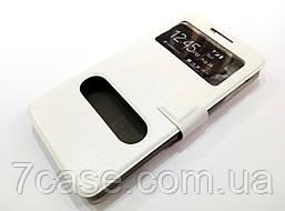 Чехол книжка с окошками momax для Lenovo P780 белый