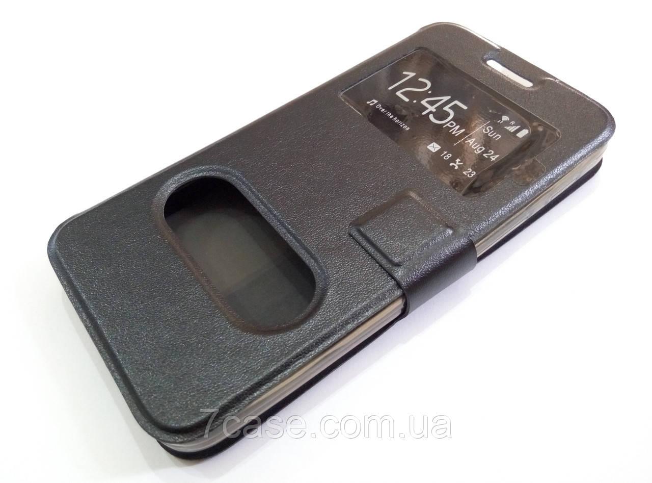 Чехол книжка с окошками momax для Asus Zenfone C ZC451CG черный