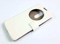 Чехол книжка с окошком momax для LG L Bello / L Prime d331 / d335 / d337 белый, фото 1