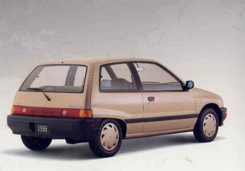 Заднее стекло (ляда) Daihatsu Charade G100 (1987-1994), Седан