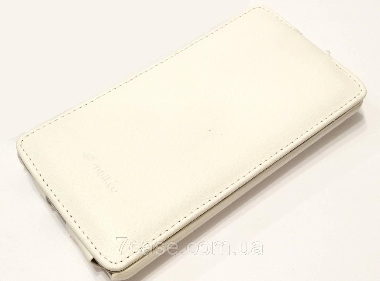 Чехол книжка Melkco jacka type для LG G3 d855 белый